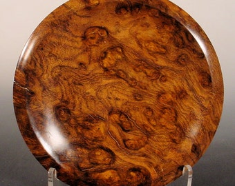 Sindora Burl Ring Dish Turned Wooden Bowl Number 6500 by Bryan Nelson