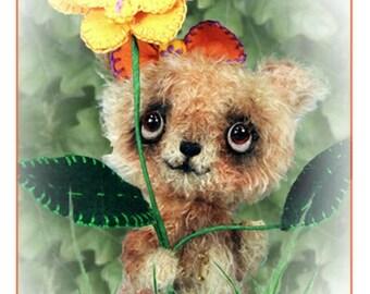 ON SALE Kawaii Plush Bear PDF, Kawaii Stuffed Animal, Diy Bear Pattern, Stuffed Animal Pattern, Plush Cute Bear, Pdf Sewing Pattern