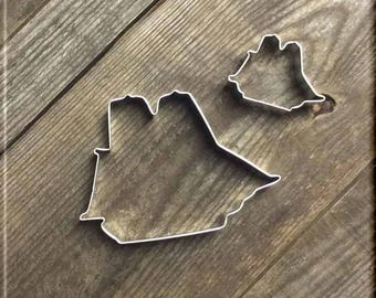 Set of 2 Sailing Ship Metal Cookie Cutters #NAWK1