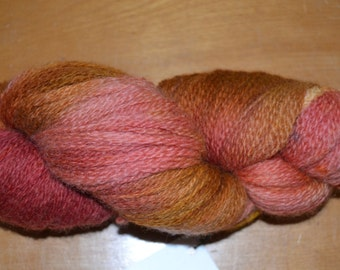 BFL Wool Lace 2ply  Autumn  4oz