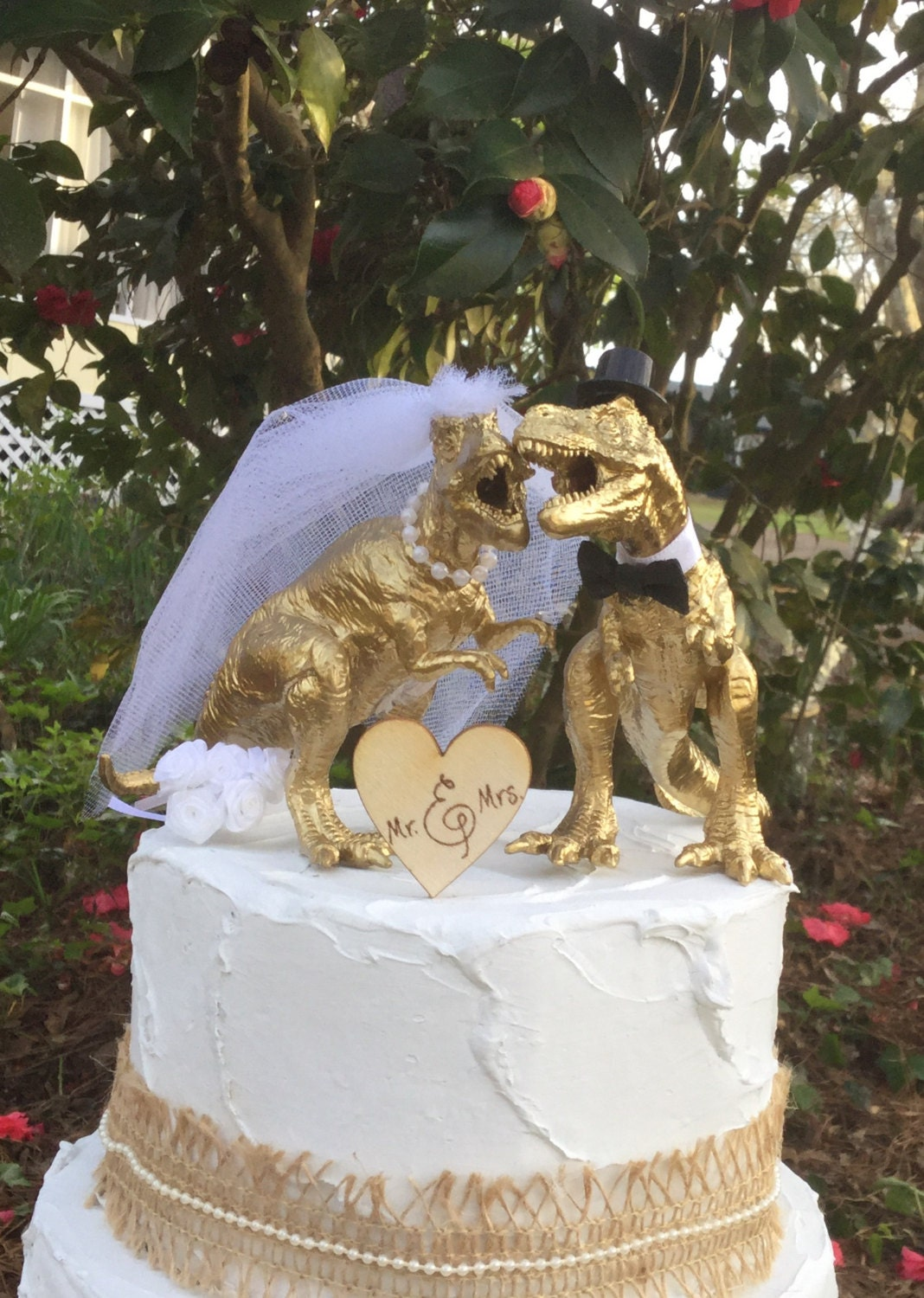 gold dinosaur wedding cake topper dinosaur wedding cake topper t rex cake topper gold 14751