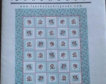 Lakehouse - Quilt Pattern -Cherry Squares Quilt