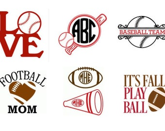 Baseball or Football Stainless Steel Tumbler - Ozark Trail - 30 oz - Custom Color & Decal Options