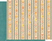 Graphic 45 Cafe Parisian Petit Fours Scrapbook Paper