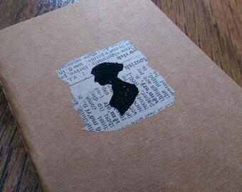 Jane Austen (hand embossed cahier)