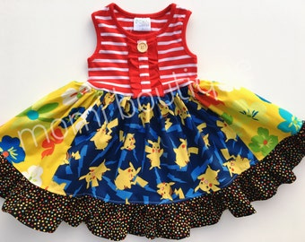 Pokemon GO dress Momi boutique custom dress