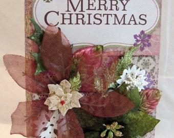 Scrapbook Christmas Mini Flip Album by Kitsnbitscraps