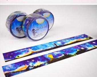 Night Fantasy Washi Tape • Kamito Masking Tape (CRM00702)