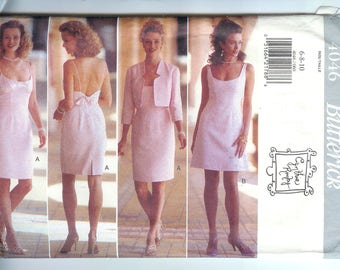 Butterick Misses JACKET and DRESS Sewing Pattern 4046 Size 6-8-10   Cynthia Rowley