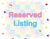 Reserved Listing for Akyren