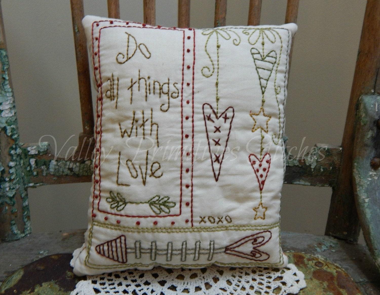 Decorative Valentine s Pillow Hearts Sweetheart Love