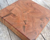 Ready to Ship Now - Curly Red Maple Block