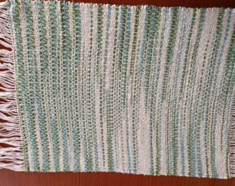 Handwoven placemats, Emerald Isle, set of 4