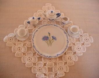 Miniature Tea Set - Hand Painted