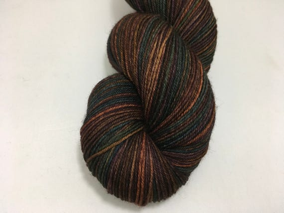 Forbidden Forest - Dyed to Order - Hand Dyed - Merino Wool Yarn - Fingering Weight - Harry Potter Yarn