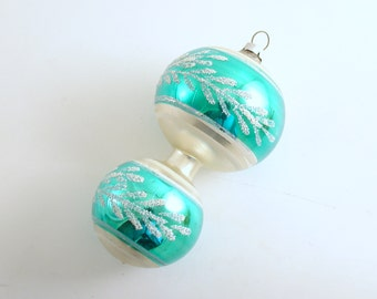 Vintage Christmas Ornament Glass Ornament West Germany