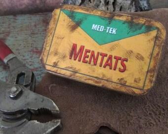 Mentats tin wasteland storage prop Fallout 3 - 4 - New Vegas - Dune