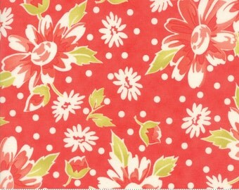 Coney Island (20280 12) Candy Apple Red Daisy Blooms by Fig Tree & Co.
