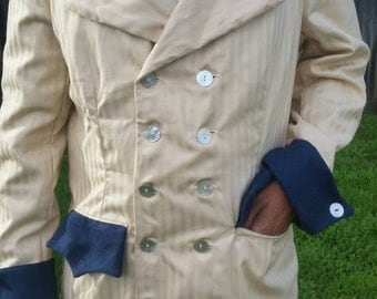 STEAMPUNK Suit Jacket Coat Hermans Eco L 42 USA