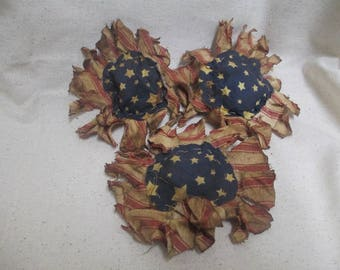 Americana Prim Flower Bowl Fillers