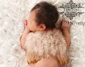 Natural Feather Angel Butterfly Wings, newborn, Baby, Photography prop, Wedding, Choose Colors