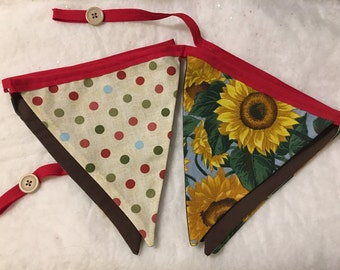 Large Fabric Summer Banner