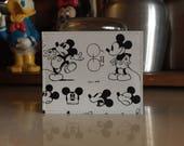 Mickey Mouse Disneyland Map Mini Wallet