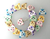 Cat Beads Polymer
