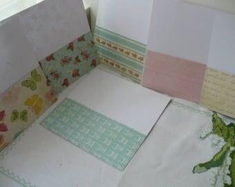 Springtime Money Envelope System Organize, Spring Cash Envelope System, Spring Pink and Blue Budget System Organizer