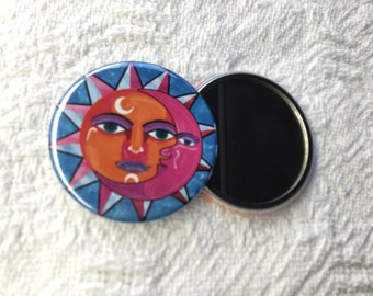 Pocket Mirror - Sun Moon Compact