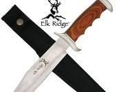 20% OFF Personalized Buck Knife, Laser Engraved Buck Knife, Elk Ridge Knife, Best Man Gift, Groomsmen Gift,Fathers Day Gift,ER012