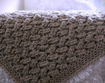 Download Now - CROCHET PATTERN Yarn Weaver Blanket - Any Size - Pattern PDF