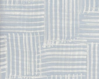 RJR Blossom Batiks 3140 1 Soft Blue Stripes By The Yard