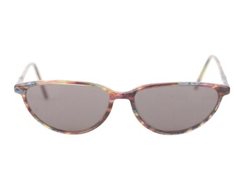 FINISSIMO by LASTES Vintage CAT eye multicolor 54/15 mint sunglasses frame italy