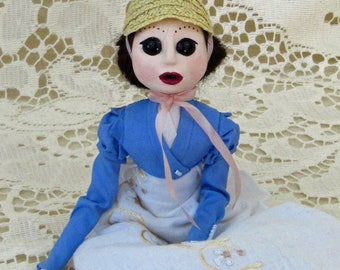 Eliza, A Regency Handmade Art Doll by Natasha Morgan
