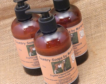 Apples and Oak Liquid Hand Soap 8 oz