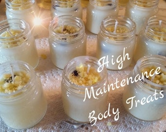 Mini soy wax candles
