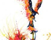 Phoenix Spirit Animal Art...