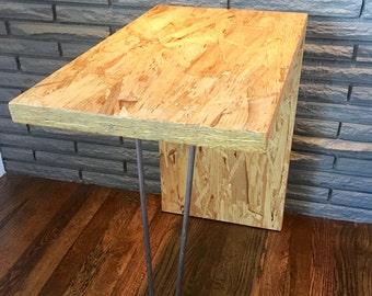 items similar to rnd table osb on etsy. Black Bedroom Furniture Sets. Home Design Ideas