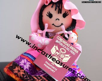 Andean Doll Rosita FREE SHIPPING