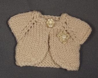 BLYTHE CARDIGAN/BOLERO, Blythe outfit, Blythe clothes, Blythe knitted top