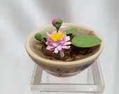 1:12 Scale Lily Pad Bowl