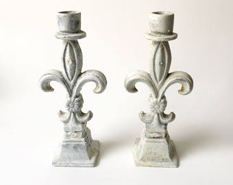 Metal Candlesticks Rustic Candlesticks Outdoor Candle Holders Gothic Candle Holders
