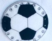 BLACK FRIDAY Soccer lacing card - sewing card- educational learning toy - fine motor skills - hand eye corrdination - #3874