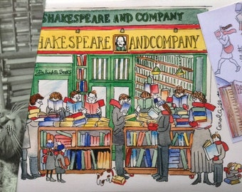 Shakespeare & Company: Paris letter shipped flat from France