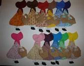 Sunbonnet Sue with Basket Appliques for quilt Style 12 Item 1233