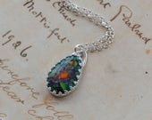 Monarch Opal Necklace