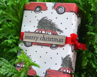 Small Christmas Gift Box for Gifts, Stockings, or Advent Calendar