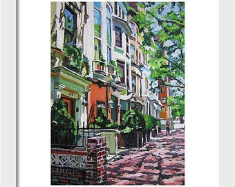 """New York Art Framed NYC 8x10 Print 