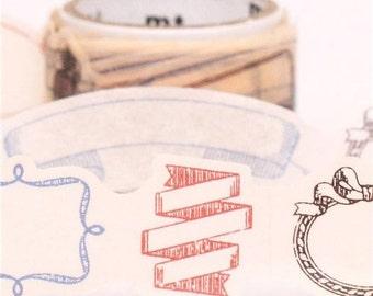 187786 die-cut frame mt fab Washi Masking Tape deco tape